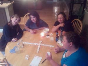 Debi, Rach, Jessie and Mel