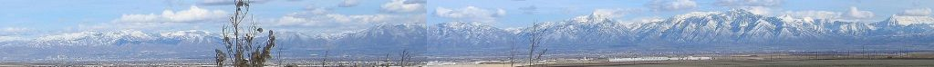 WIKIPEDIA - Wasatch Range, Salt Lake City, Utah... Click on the pic for full panorama.